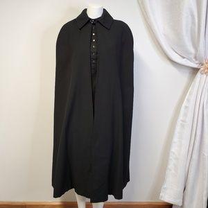 Vtg Handmade Headmistress Nun Cape Witch Cloak